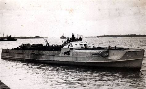 German E Boats Surrender at Felixstowe on the 18th of May 1945 E Boats