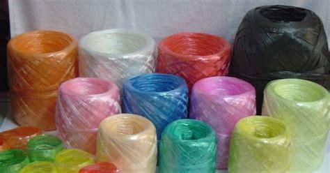 Tali Tambang Warna 6mm jaya plastik tali rafia tambang plastik plastic rope