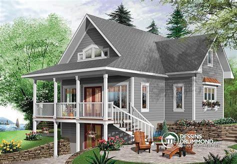 House Plans With Basement 24 X 44 by D 233 Tail Du Plan De Maison Unifamiliale W2939 V1