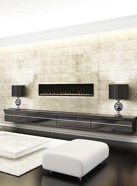 linear fireplace electric best 25 modern electric fireplace ideas on