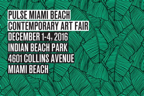 pulse miami beach 2016 returns strong for the 12th edition widewalls