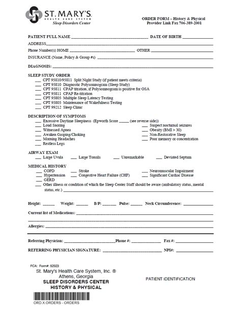 hospital release form application for the review of