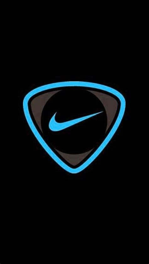 Nike Logo On Glittering Golden Basketball Iphone All Hp blue nike iphone 5 wallpaper 640x1136