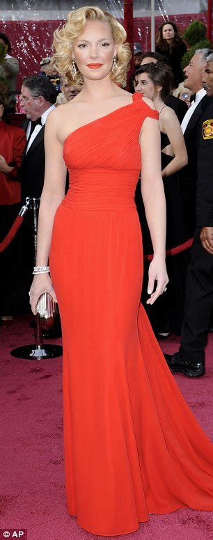 Katherine Heigl Looking Glam At The Academy Awards by Dressed As Mutton She S One Of The World S Most