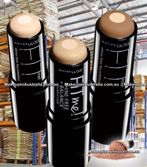 Maybelline Fit Me Stick maybelline fit me shine free stick foundation makeup
