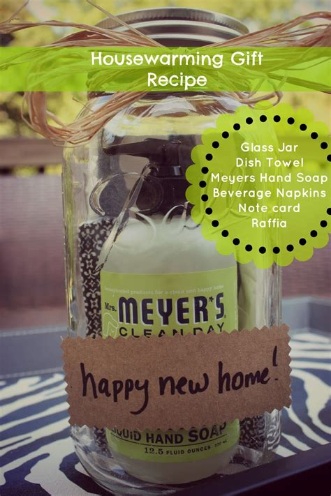 Handmade Housewarming Gifts - jar housewarming gift quot recipe quot southern state of mind