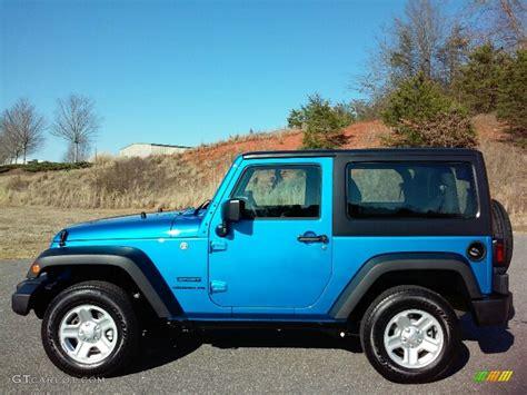 hydro blue jeep 2016 hydro blue pearl jeep wrangler sport 111213296