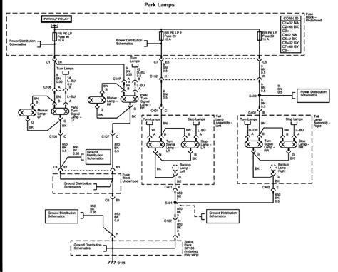 2006 chevy colorado headlight wiring diagram 2005 chevy