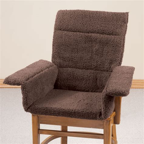 oakridge comforts sherpa comfy cushion by oakridge comforts chair cushion
