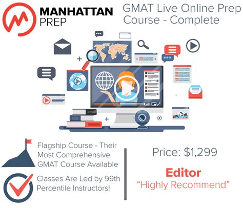 Mba Prep Courses by Manhattan Complete Gmat Prep Course