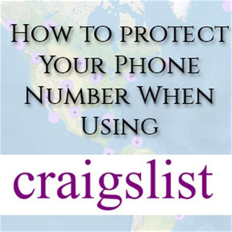 Craigslist Phone Number Lookup Protect Your Privacy And Phone Number When Using Craigslist Best Free Phone Number