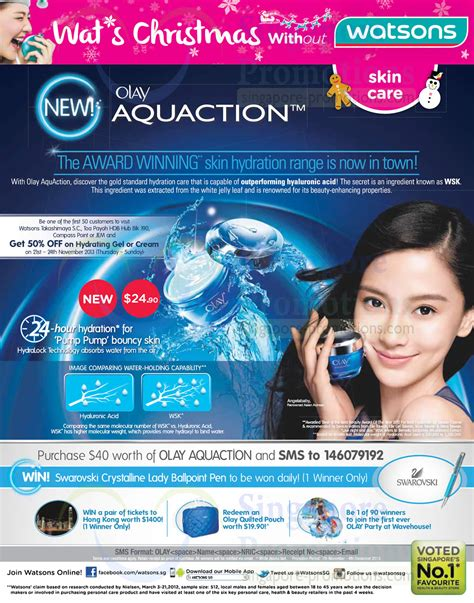 Olay Aquaction olay aquaction skincare 187 watsons personal care health