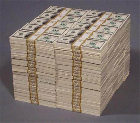 2 million dollar million dollar prop money stacks and piles