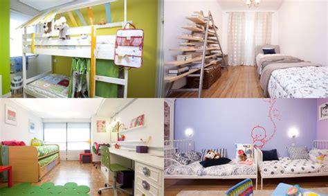ideas para decorar dormitorios infantiles ideas para decorar dormitorios para compartir hogarmania