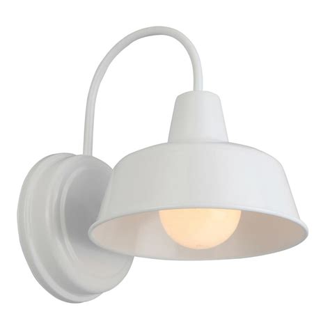 White Wall Sconce Filament Design 1 Light White Wall Sconce Cli Dn338714 The Home Oregonuforeview