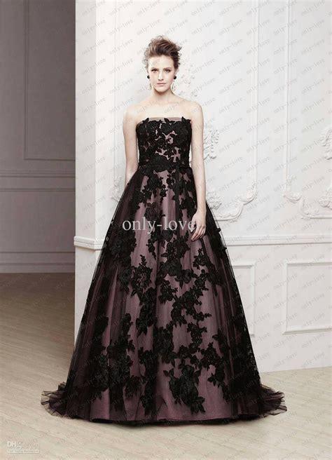 Black Wedding Dresses by Beautiful Black Wedding Dresses 2014 For N