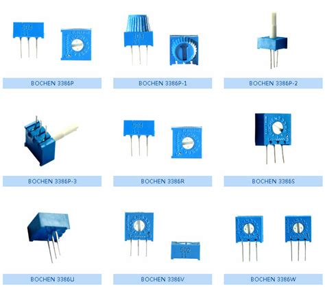 datasheet resistor variable 10k alps potentiometer variable resistor trimpot 3386h 10 ohm