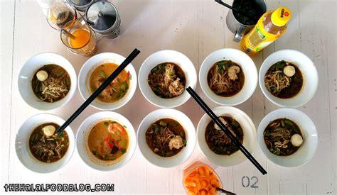 boat noodle menu hawa boat noodle the halal food blog