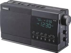 Proton Clock Radio Sangean Rs330 Digital Am Fm Stereo Clock Radio Dual