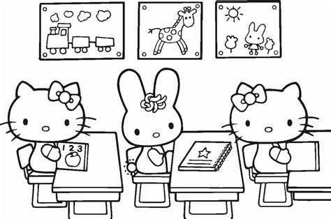 Coloring Page To Print Of Hello Kitty 1000 Images About 1000 Coloring Pages To Print