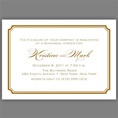 Formal Dinner Invitation Templates Cloudinvitation Com Formal Dinner Invitation Template