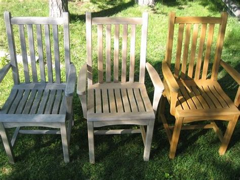 Teak Garden Furniture Cleaning 1000 Images About Tuinmeubelen Bescherming On