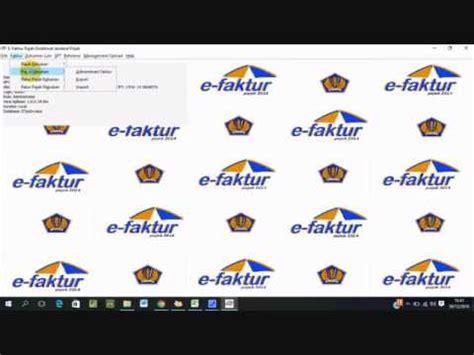 video tutorial pengisian e faktur tutorial e faktur dummy nur agni hasanah 1406547931 youtube