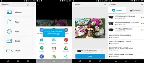 hp printer app for android printer apps for android printing from smartphones