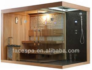 steam shower with sauna for high end bathroom