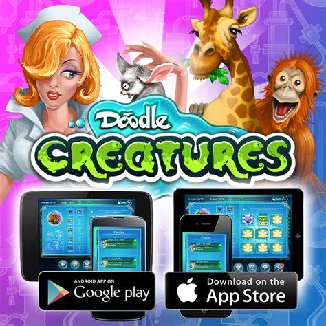 doodle creatures play joybits