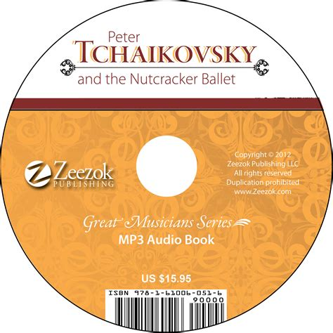 format of audio books peter tchaikovsky and the nutcracker ballet audio book on