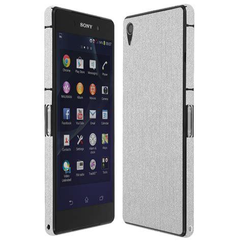 Sony Xperia Z2 Aluminium skinomi techskin sony xperia z2 brushed aluminum skin