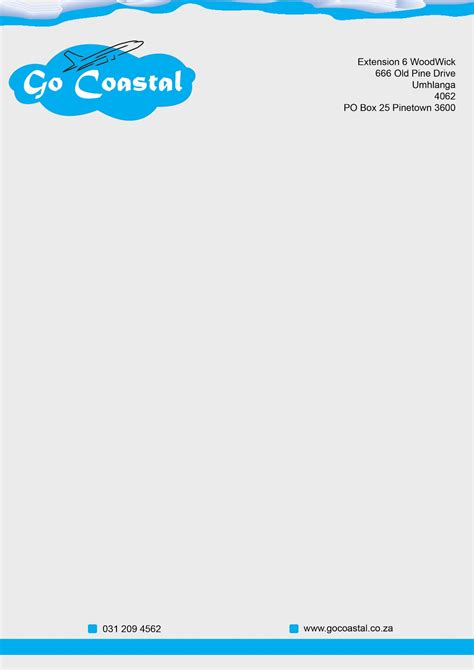 layout design letterhead syed designs