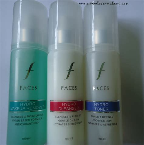 Toner Make Up faces canada hydro range makeup remover cleanser toner review new makeup