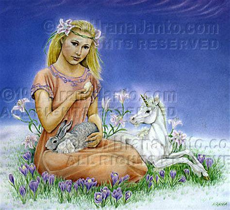 goddess easter eostre ostara