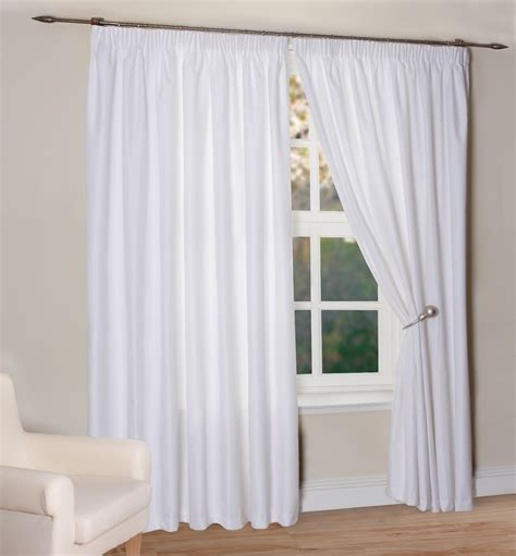 curtains home decor decoration white light blocking curtains decor with
