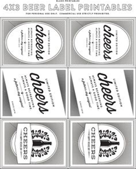printable beer label template 1000 images about beer bottle labels printable