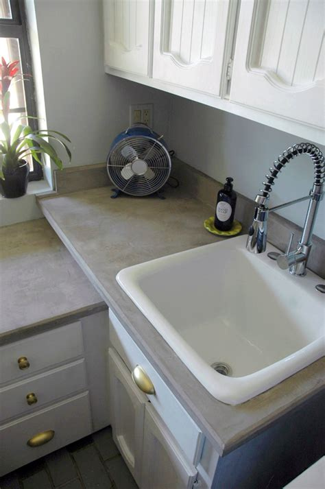 Diy Concrete Countertops Laminate diy concrete countertops laminate or anything
