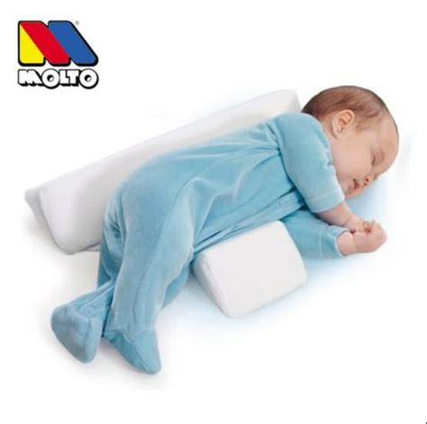 pillow for baby to sleep in bed wholesale infant pillow molto anti roll baby sleep