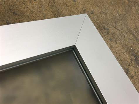 Aluminum Cabinet Door Frames Kitchen Cabinet Doors Custom Made Modern Aluminum Frame Cabinet Door Made In Usa 186 Element