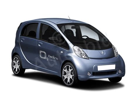 peugeot electric car peugeot ion electric car totally electric cars