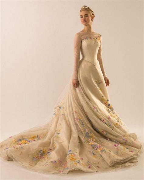 Wedding Gowns With Colored Embroidery by Cinderella Wedding Dresses Multi Colored Embroidery