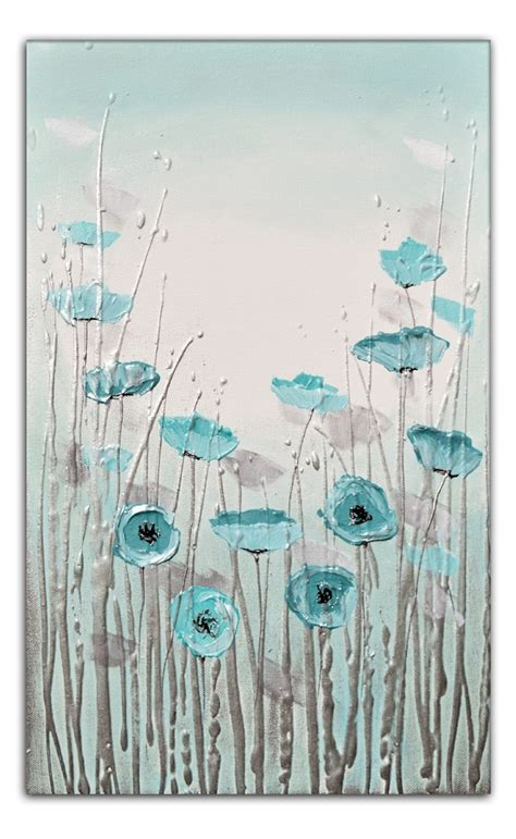 Duck Egg Blue Canvas Wall
