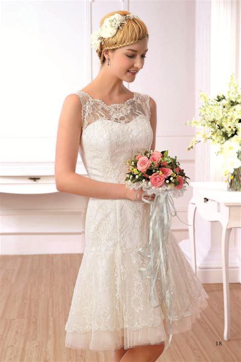 Hochzeitskleid Schlicht Kurz by Kurze Brautkleider Sabines Brautmode