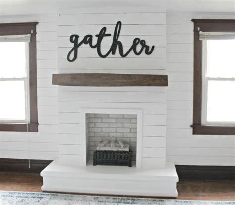 shiplap fireplace diy shiplap fireplace the definery co
