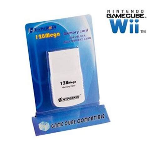 Gc Maxy 3 gamecube wii 128mb memory card new