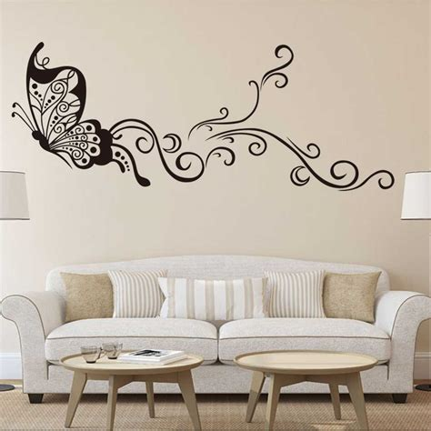 decorar paredes con pintura decorar paredes con pintura decoracion mariposas de papel