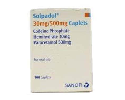 Detox From Solpadol by Solpadol Paracetamol Codeine Painkiller Order