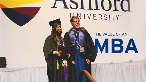 Ashford Mba Courses by The Value Of An Mba Forbes School Of Business 174 At