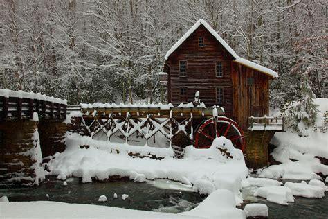 file wv gristmill bridge creek winter snow pub jpg